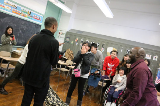 Japanese Students Visit Curtis High School