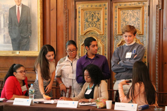 Youth discuss foreign policy issues at the CFR