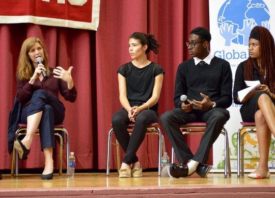 Ambassador Samantha Power at Curtis High School