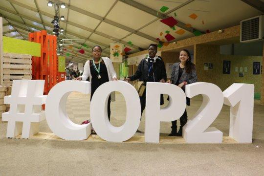 GK Leaders at COP21 in Paris, France