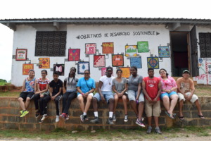 The Peace Boat cohort in Guatemala
