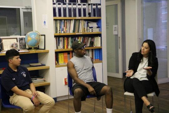 NYC Council Member Carlina Rivera visits GK!