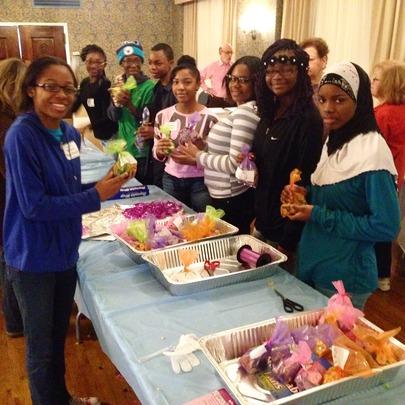 GK Leaders volunteering on MLK Day