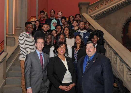 GK Leaders visited the NY State Assembly in Albany