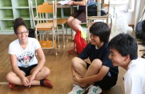GK Leader with Japanese peers