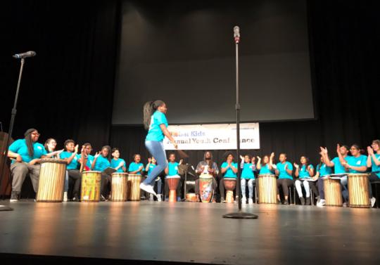 Beautiful performance by Global Kids Leaders