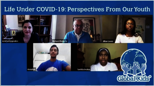 Virtual Panel with Youth on Covid-19
