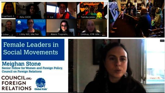 Female Leaders in Social Movements