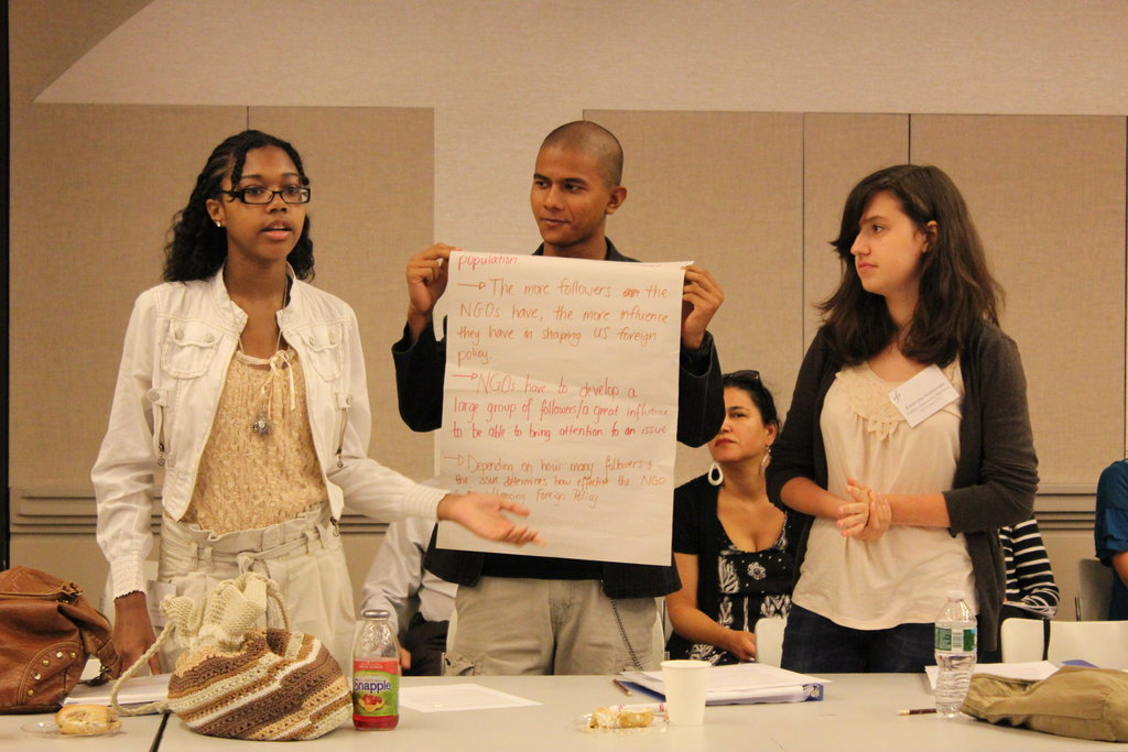 Develop Global Youth Leaders in NYC and DC!