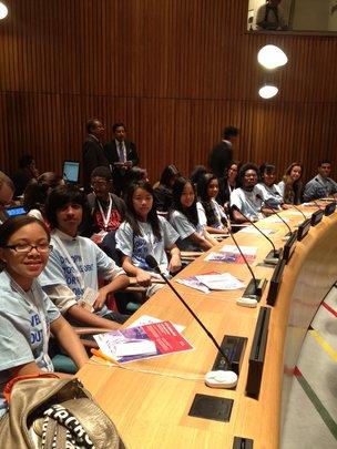 GK Students Hear Malala Speak at the U.N.