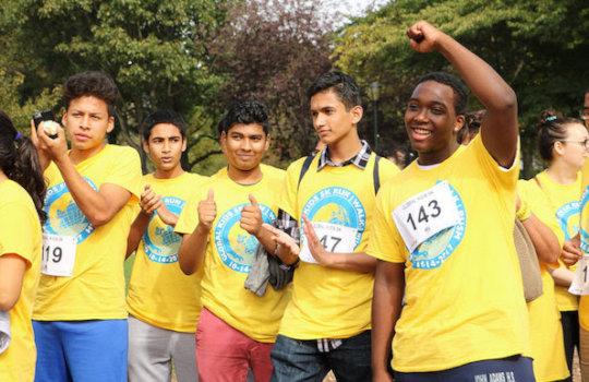 Global Kids 5K Run/Walk/Push participants!
