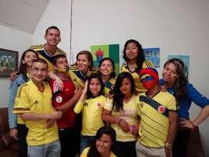 Children during world cup