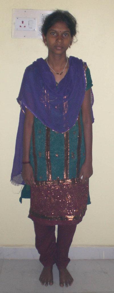 Tribal child need eye treatment,specs & education