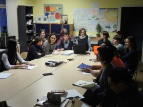 students and teachers of Big Change
