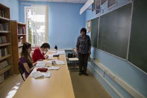 Russian language class