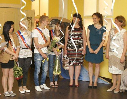 2012 Graduation of students