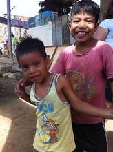 Children from El Porvenir