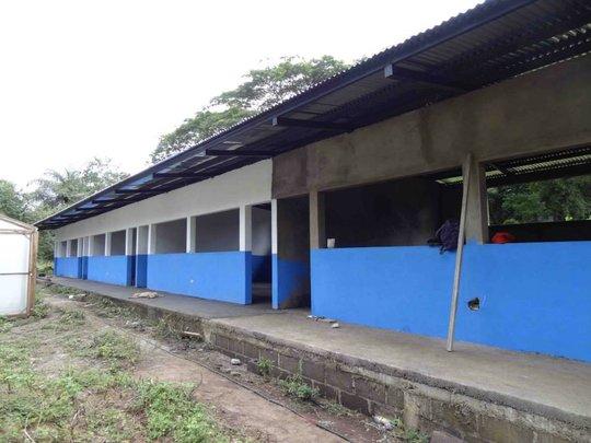 side view of school