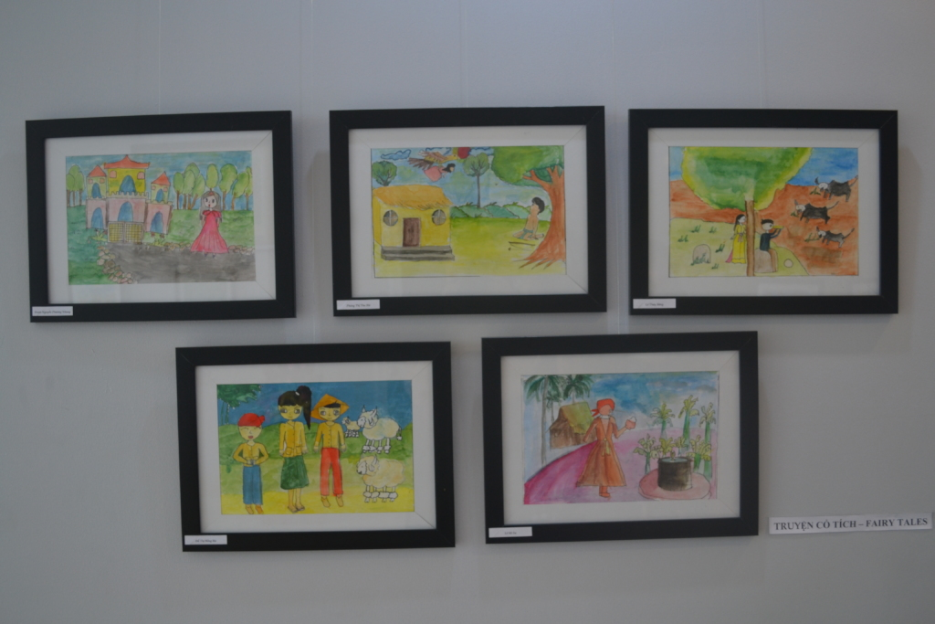 Reports on Art Mentorship for Poor Vietnamese Children - GlobalGiving