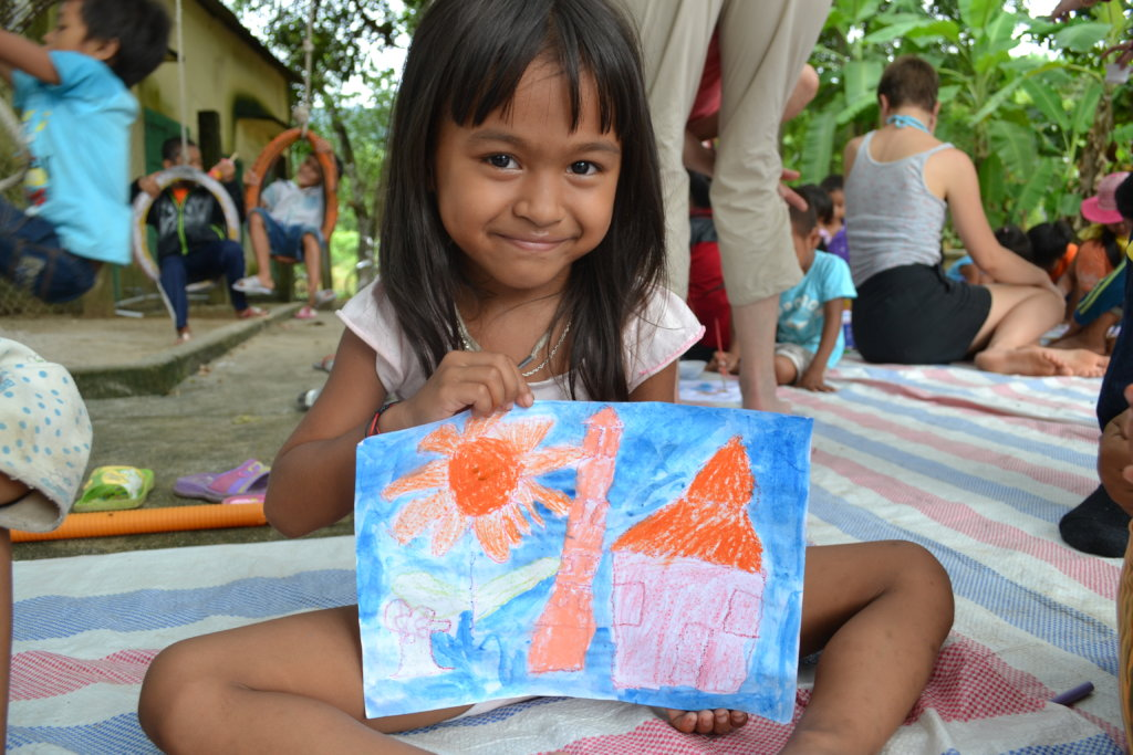 Art Mentorship for Poor Vietnamese Children