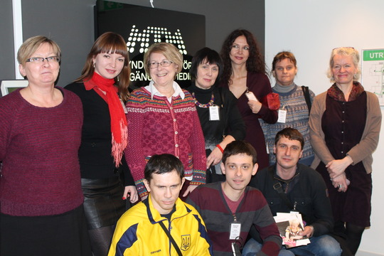 Our group of Braille books experts in Sweden