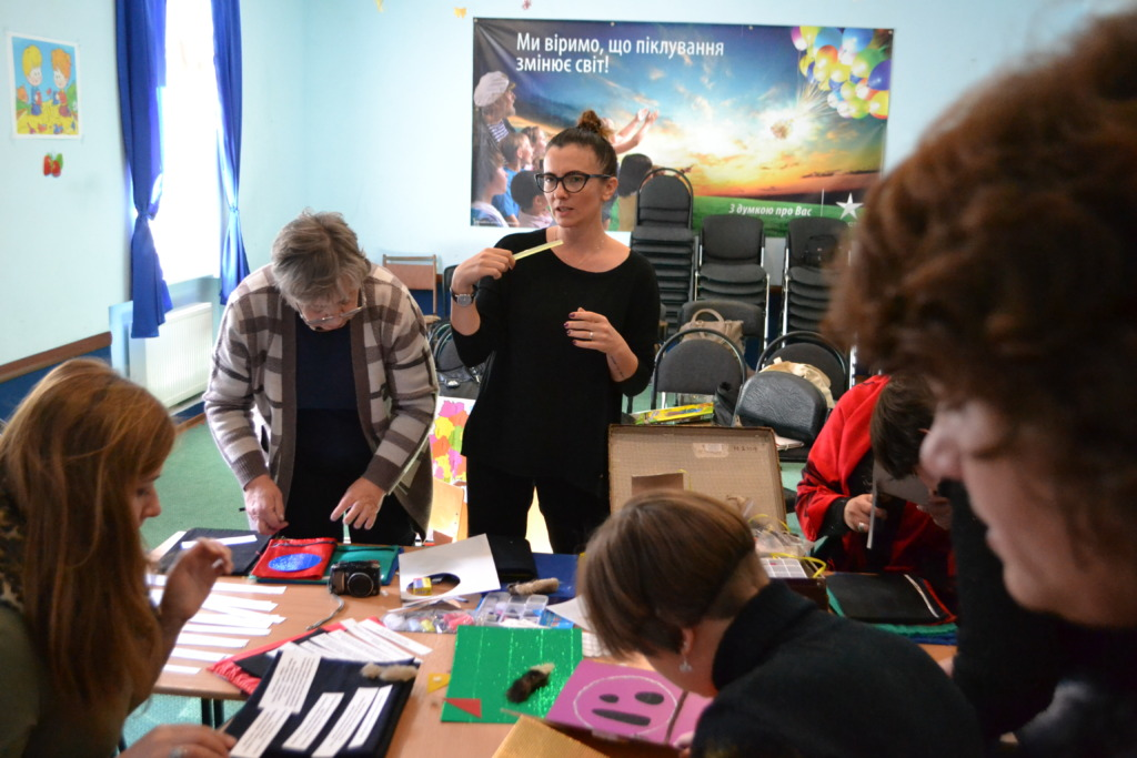 Master class on making tactile book