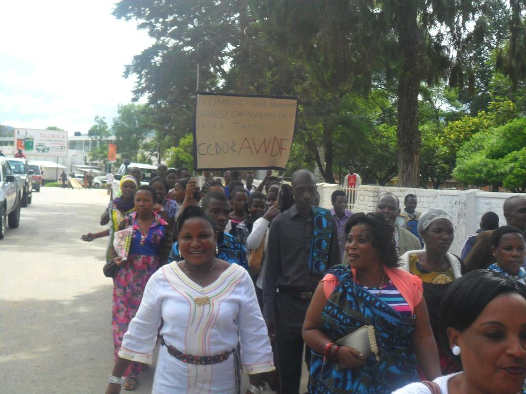 CCDO Youths Against their Rights Violations