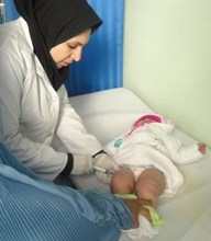 Baby Receiving Care