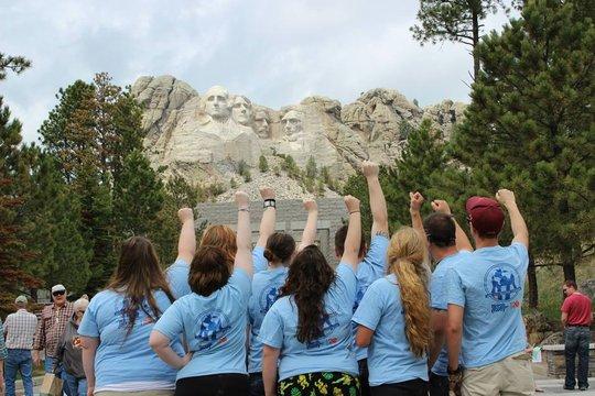 Kirtland breakers at Mount Rushmore