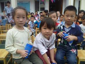 Children at Xintu Wellbeing Center