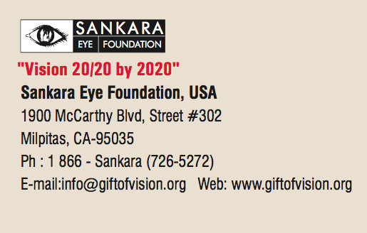 Sponsor eye surgery & eradicate blindness in India