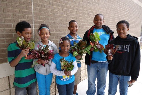 CPLG Students with Greens!