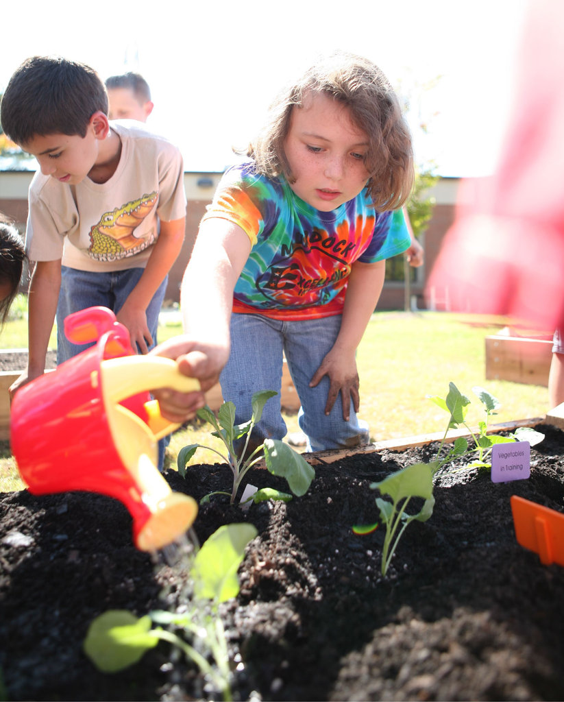 Invest in Outdoor Learning Gardens & Health
