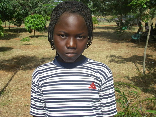 Ouedraogo Zalissa, 12 yrs old