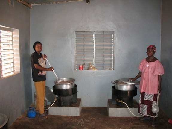 Women Cooking the Noon Meal