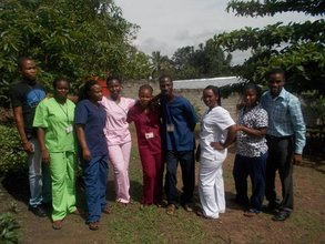 Expanded Staff wearing newly donated uniforms
