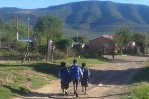 Headed to school