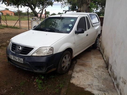 Repaired car
