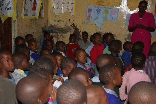 Library Centers in Nairobi slum