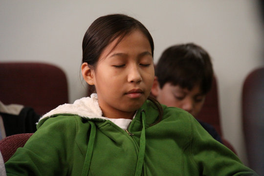 Teach Meditation to 40 Indigenous Students
