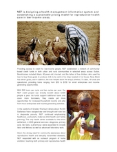 NEFs multi-faceted assistance in Sudan (PDF)