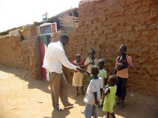 Attracting orphans off the streets, into school