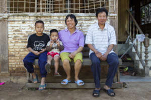 A Thai foster family