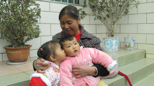 A Chinese foster family