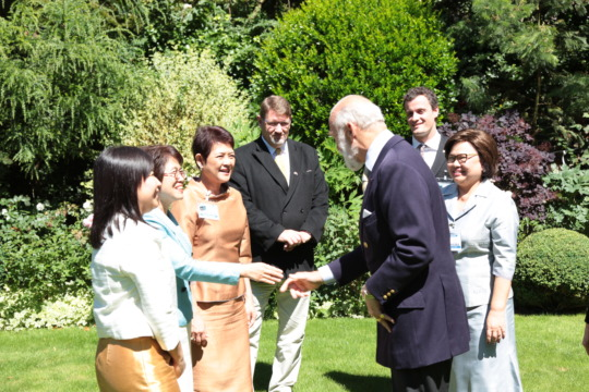 Meeting HRH Prince Michael of Kent