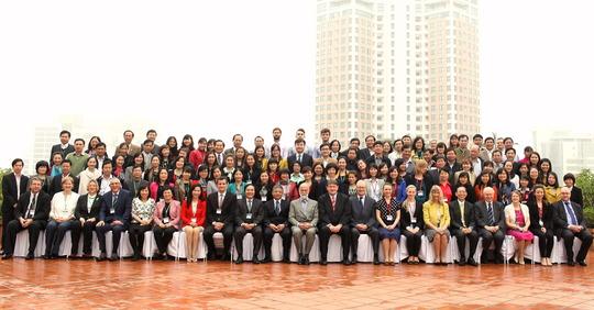 Delegates attended from across Vietnam