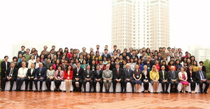 Delegates attended from across Vietnam