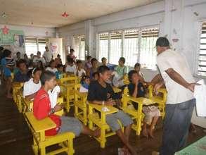Teacher leaves the kids alone ! :)