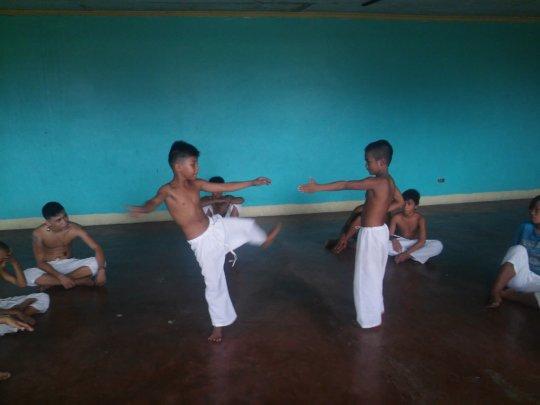 Capoeira ... still and again