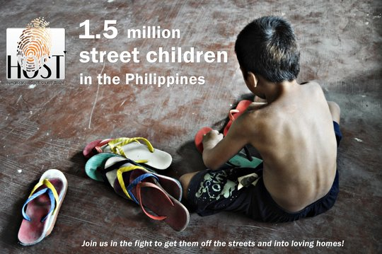 Remove 500 Filipino children from the streets